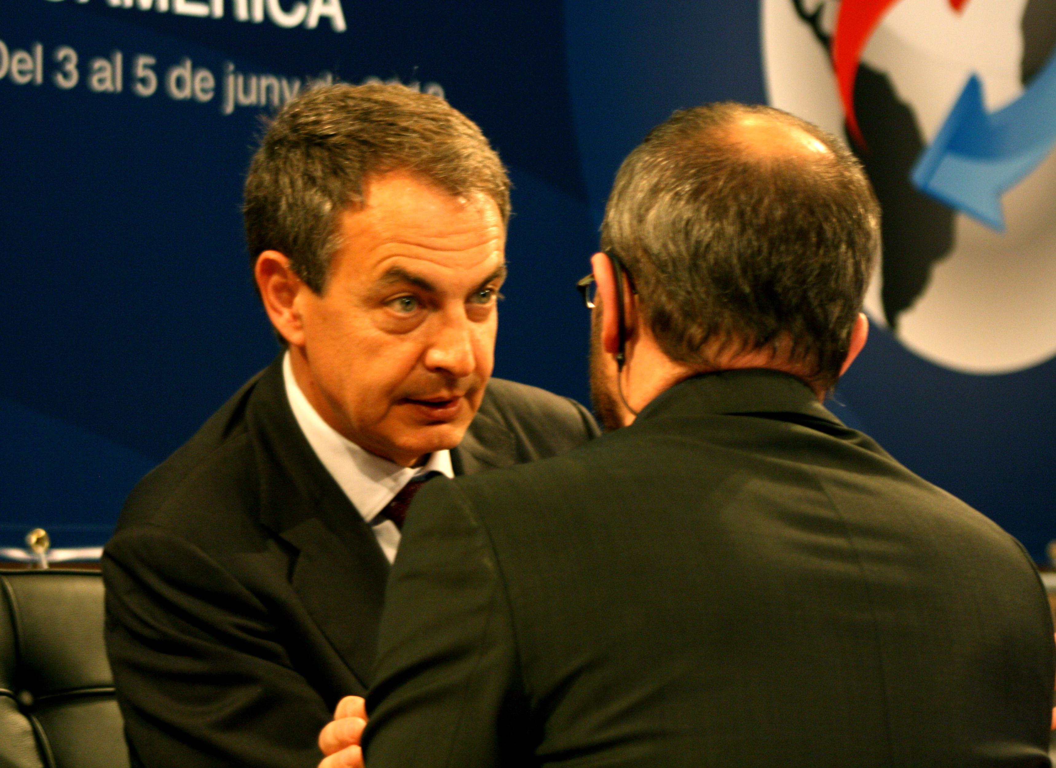 José Luis Rodríguez Zapatero / Foto: Laura Farré