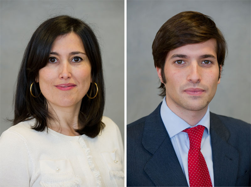 Blanca Escribano y Marcos García-Gasco