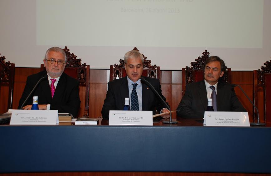 El tribunal arbitral de barcelona arbitr conflictos por valor de 69 9 millones de euros en 2012 - Colegio de notarios de barcelona ...